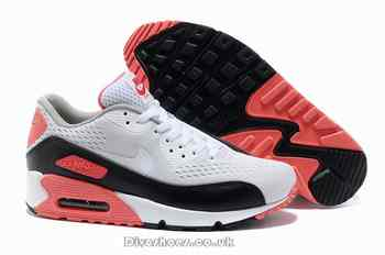 quality design efe94 d63be Pas cher Nike Air Max 90 Premium EM homme blanc noir infrarouge Galway  Running chaussures