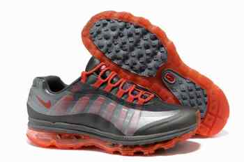 quality design f63b8 f4e6b Pas cher Nike Air Max 95 BB femme Dark gris Silver Total Orange Galway  Running chaussures