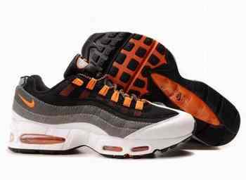 low priced 0a799 e8753 Acheter Nike Air Max 95 homme noir Orange blanc Ireland Running chaussures